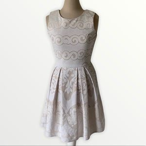 Altar'd state lace fit to flare dress